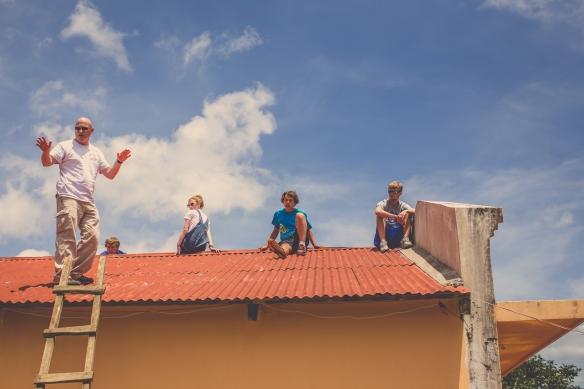 roof crew.